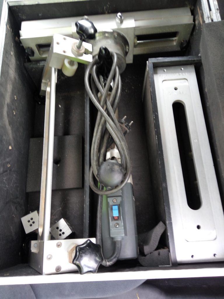 meerpuntsluiting infresen mal voor beslag en cilinder